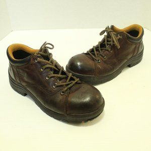 Timberland Pro Steel Toe Leather Work Boots ASTM